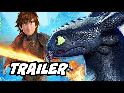 How To Train Your Dragon 3 Trailer Breakdown