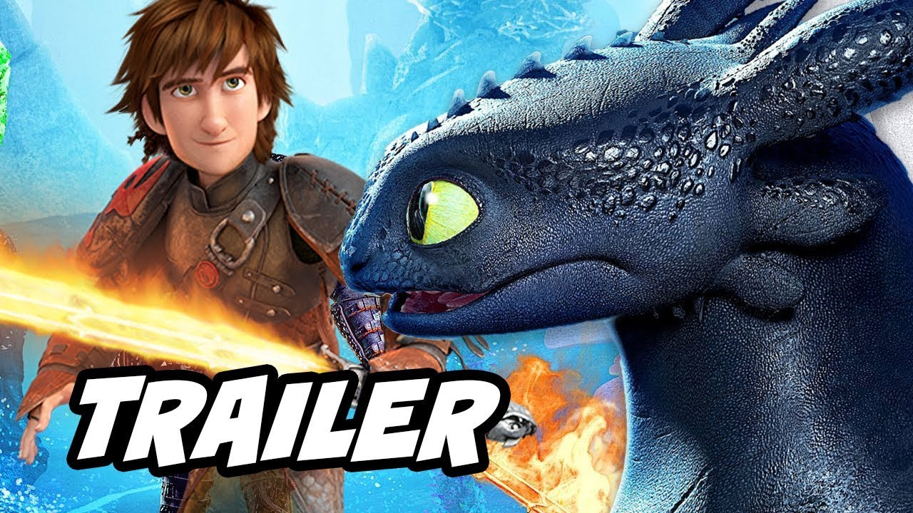 Download How To Train Your Dragon 3 Trailer Breakdown