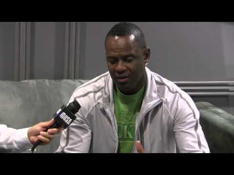 Brian McKnight backstage interview at Nokia Theater