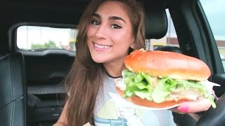 TRYING MCDONALD'S NEW SIGNATURE GUACAMOLE CHICKEN SANDWICH!!