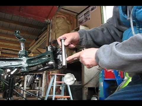 Kingpins Amp Bushings Rat Rod Installation Youtube