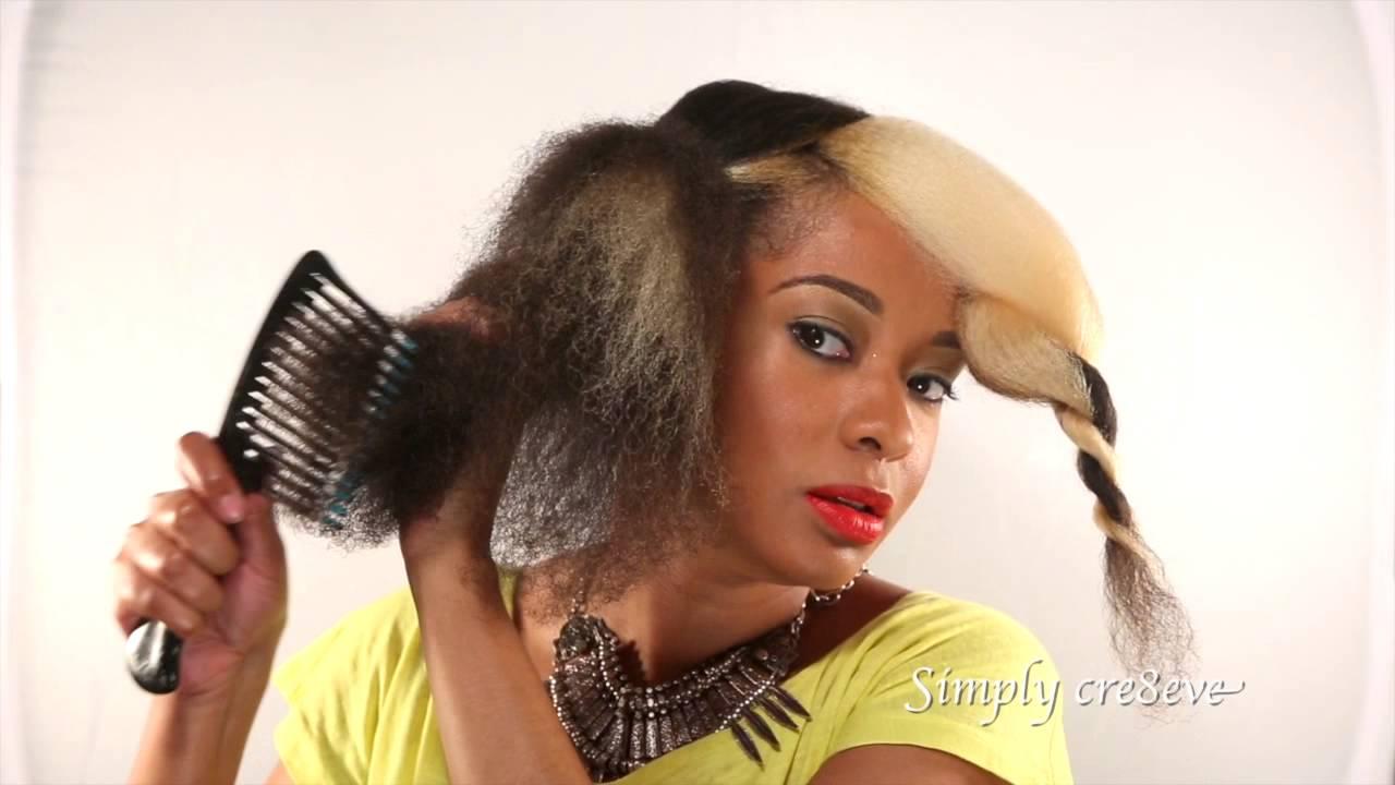 natural hairstyles bridal