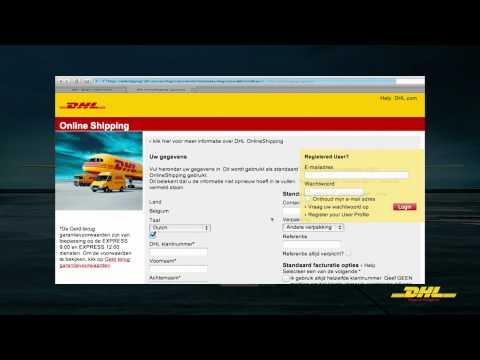 eCom Online Shipping Manual NL Video v2.0.2