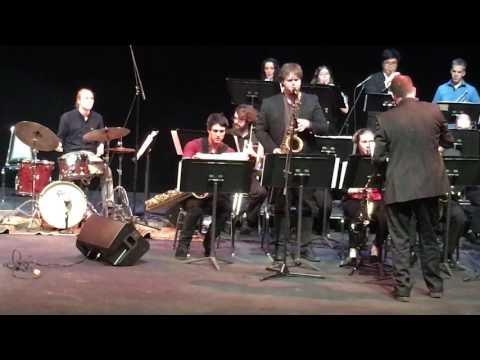 Portland State University Jazz Band - Rosewood (Woody Shaw, Arr. Charlie Gray)