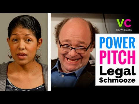 Power Pitch: Legal Schmooze  (Venture Capital Parody)