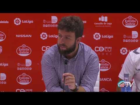CD Lugo - Presentación Luis Muñoz - Rueda de prensa.