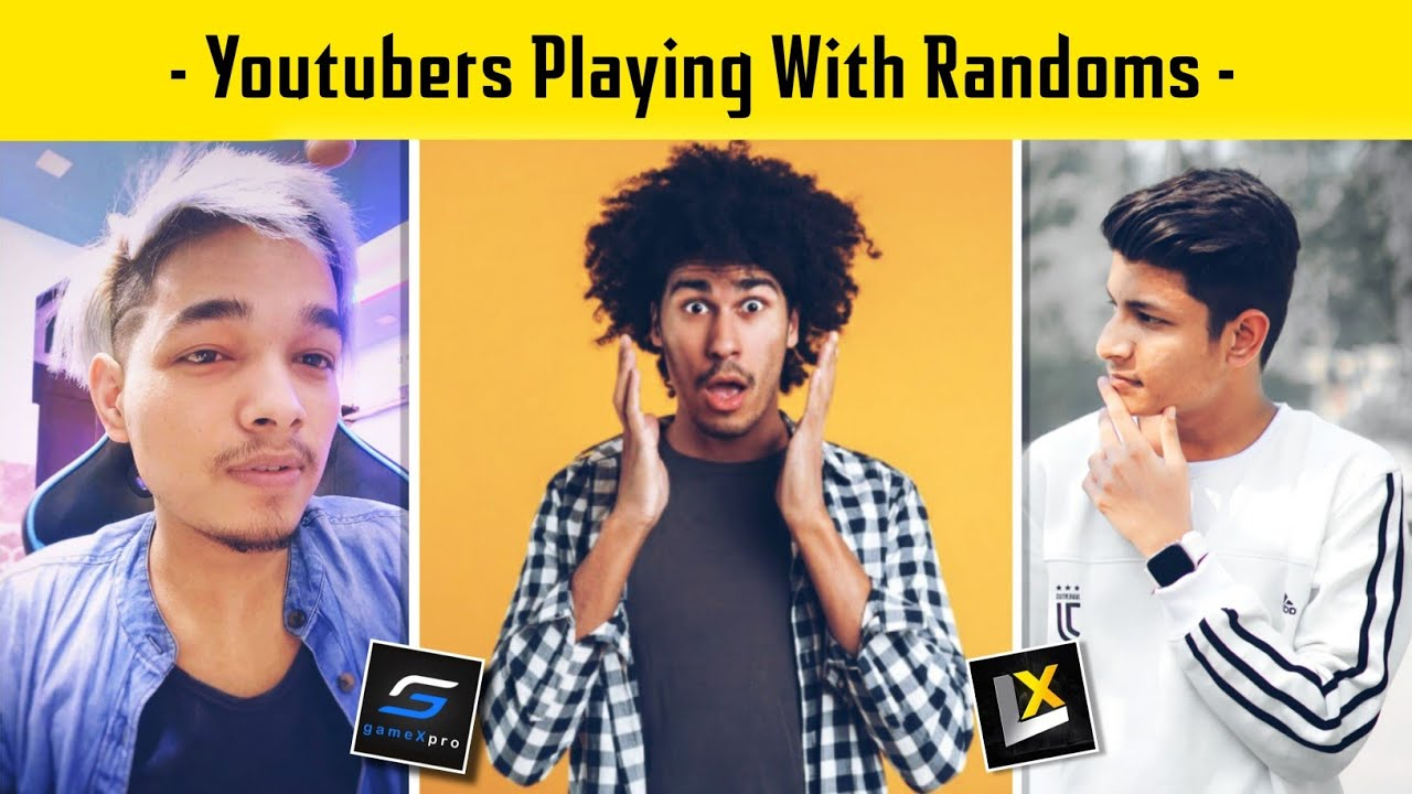 😤 When Youtubers Playing With Random Conqueror Squad - Legend X Gamexpro - PUBG MOBILE