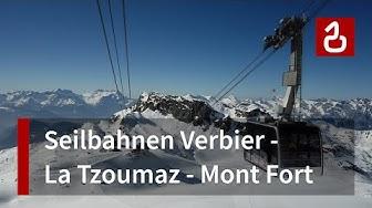 Skigebiet Verbier - La Tzoumaz (Les 4 Vallées)