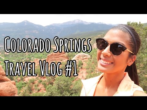 THE GARDEN OF THE GODS | Colorado Springs, CO Travel Vlog