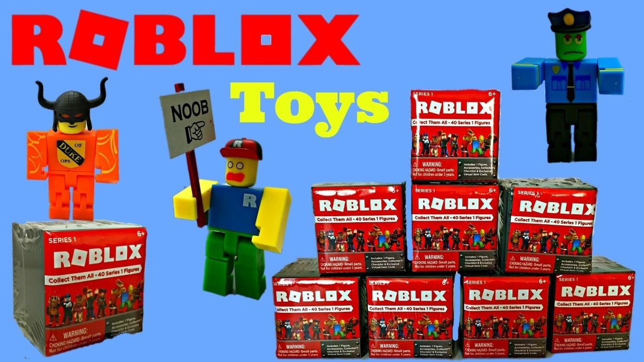 Roblox Toys Minifigures Unboxing Amp Toy Review Blind