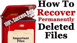Recover Permanently Deleted Files From SD Card/USB Drive | 100% Success Rate