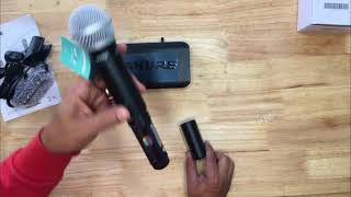 Shure BLX24/PG58 Product description review