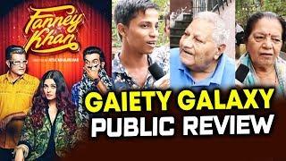 Fanney Khan PUBLIC REVIEW   GAIETY GALAXY   Anil Kapoor, Aishwarya, Rajkumar, Pihu