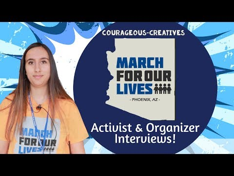 Arizona's Political Activism Organizations - March For Our Lives Phoenix