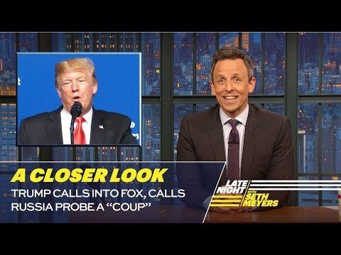 Trump Calls Into