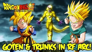 Dragon Ball Super: The Appearance of Goten & Trunks in the Resurrection F Arc Discussion