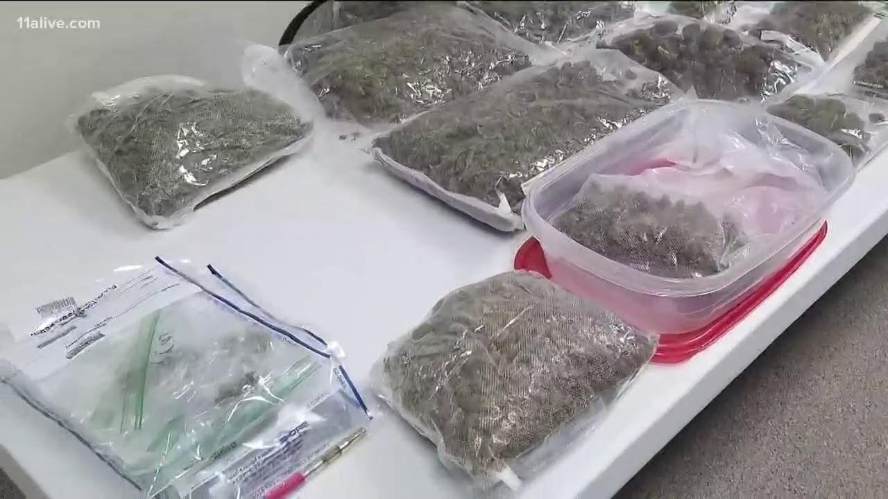 Eight pounds of marijuana found in Helen business