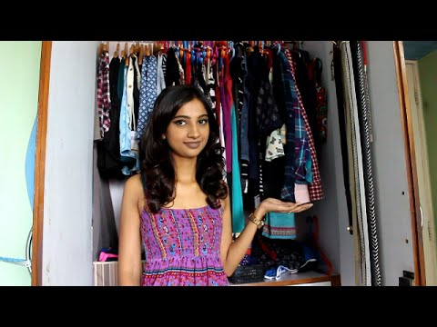 My Wardrobe/Closet Tour 2016 (How I Organise My Wardrobe) II Indian Beauty Vlogger