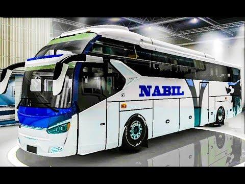 Nabil Classic Double Decker Bus In Bangladesh | BD New bus mod in Euro truck simulator 2 (ETS2)