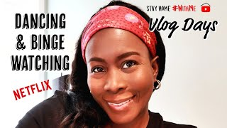 STAY HOME WITH ME || BINGE WATCHING NETFLIX || VLOG DAYS
