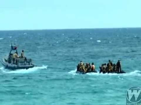 Philippine Navy conduct island defense exercise