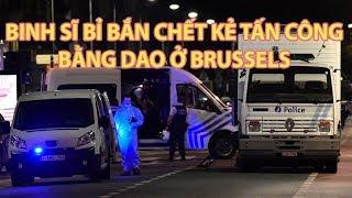 Tin nhanh Quốc tế 26 8 Kẻ tấn công bằng dao bị bắn chết ở Bỉ