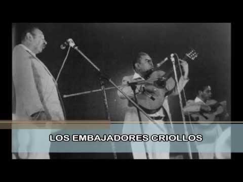 LOS EMBAJADORES CRIOLLOS - MIX DE VALSES