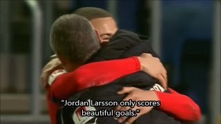 Jordan Larsson - going in his father Henrik Larsson's footstep - TV4 Sport