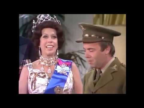 Carol Burnett Show - Royal Family - Carol Cracks Up