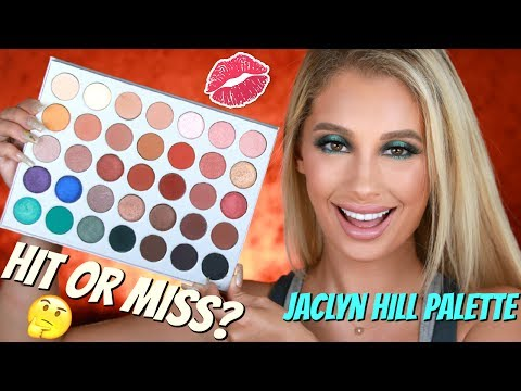 HIT or MISS? Jaclyn Hill Morphe Palette  Nicol Concilio