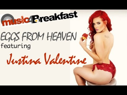 dfdb86288049c Justina Valentine makes Eggs From Heaven - YouTube