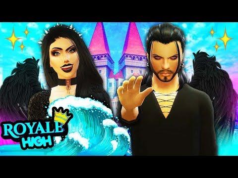 THE DARK FAIRIES ARRIVE TO ROYALE HIGH! 😈🔥 The Sims 4 Royal High School #3! 👑