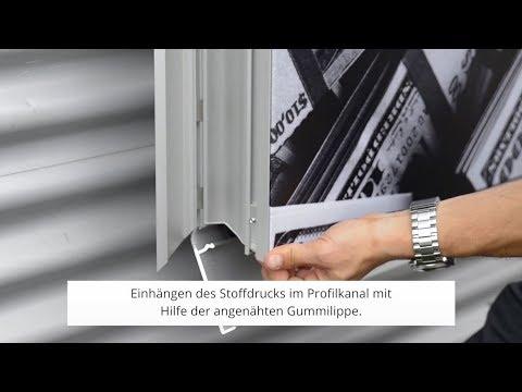 FRAMELESS Montagevideo Outdoorrahmen