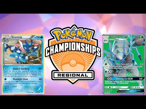 Pokemon TCG Hartford Regionals 2017-18 Round 8: Greninja vs Golisopod