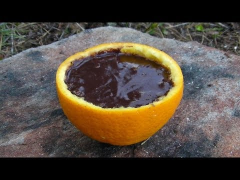How To Bake A Cake In An Orange.