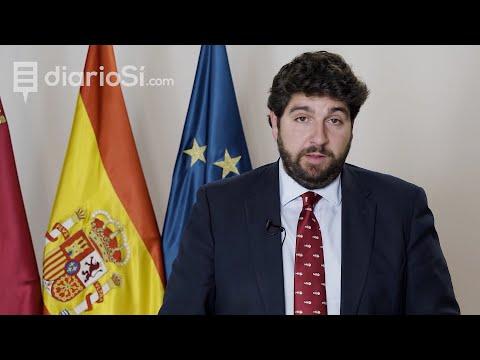 López Miras exige a Pedro Sánchez que «no discrimine» a la Región