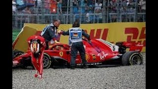 F1 2018 German GP Race Summary - VETTEL CRASHES OUT!!!!!!!!!!