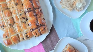 Hot cross buns  Video recipe