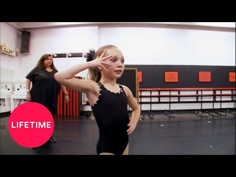 Dance Moms: Maddie Is Sick In Rehearsal (Season 1 Flashback) | Lifetime