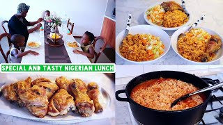 Special Nigerian lunch recipe | Sunday meal idea😉 | Cook with me.