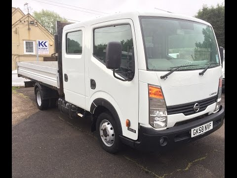 2008 NISSAN CABSTAR DOUBLE CAB DROPSIDE TRUCK REVIEW