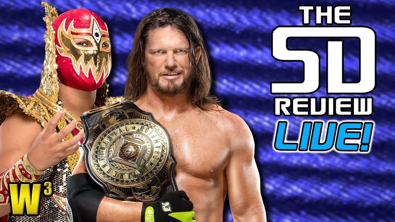 Styles vs. Metalik for the Intercontinental Title! | The Smackdown Review (July 31, 2020)