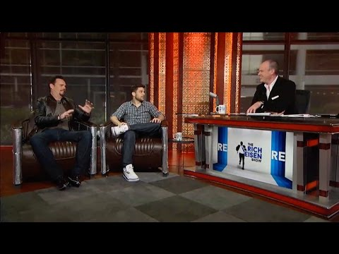 "Actors Jerry Ferrara & Kevin Dillon Talk ""Entourage"" Movie in Studio - 5/19/15"