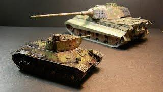 Один из Лучших | Пошаговая Сборка Модели Танка Т-50 из БУМАГИ