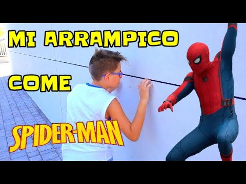 Mi ARRAMPICO come SPIDERMAN - FICO  EATALY WORLD - Leonardo D
