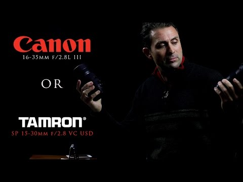 Canon 16-35L III vs Tamron 15-30 VC | Which One?