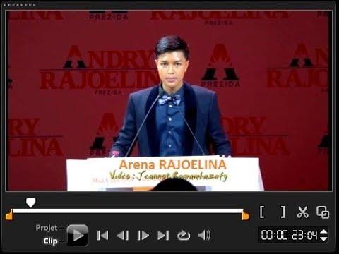 Arena Rajoelina. Soutien filial à son père 01 Août 2018
