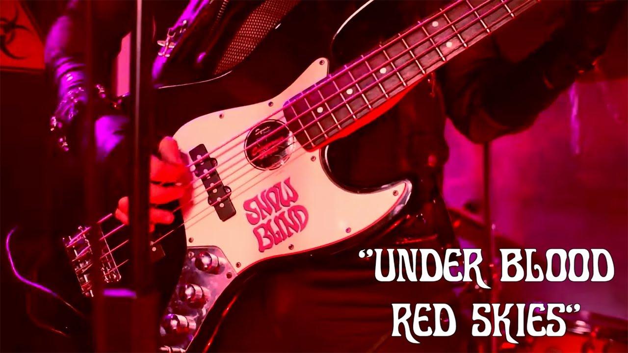 Snowblind - Under Blood Red Skies (Official Video)