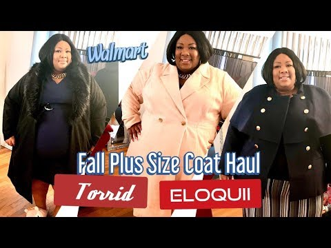 Fall & Winter Plus Size Coats & Jackets Haul Try On: Ft. Torrid Eloquii Collab W/Real Beauty