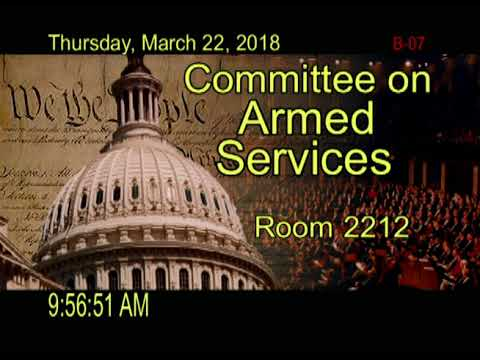 20180322 Reviewing DOD Strategy, Policy, and Programs for CWMD for FY19 (ID: 108018)